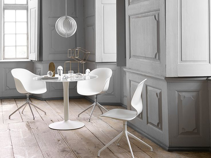New York white designer dining table - BoConcept Sydney