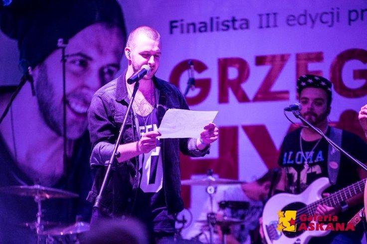 Koncert #GrzegorzHyży w #GaleriaAskana 3.08.2014