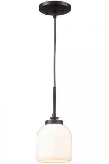 Ridley 1-Light Mini Pendant - Pendant Lighting - Pendant Light - Light Pendants | HomeDecorators.com