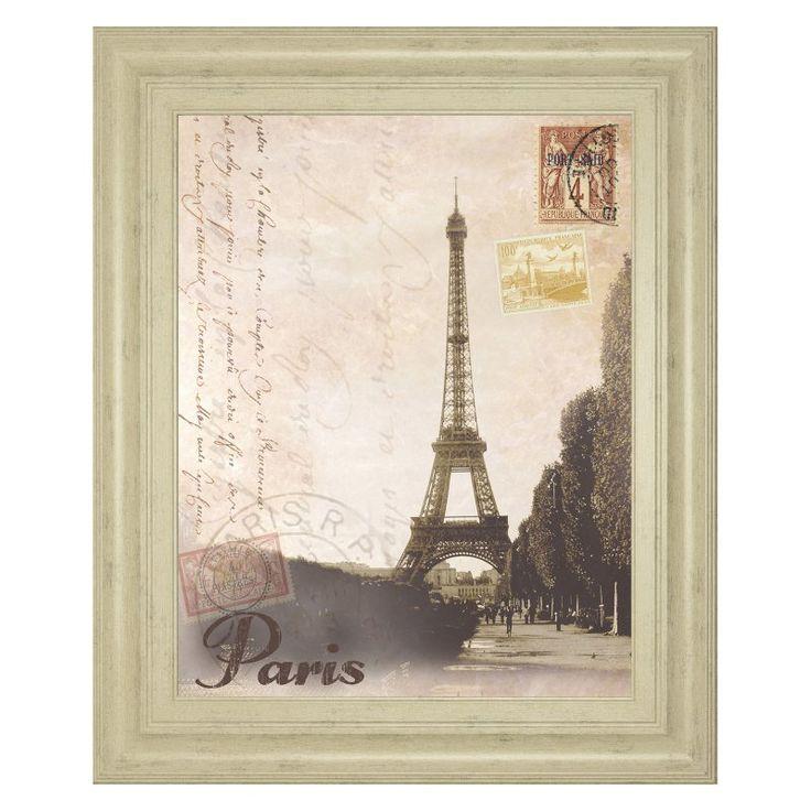 Classy Art Paris Travelogue Framed Wall Art - 8228