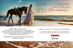 Destination Wedding Photography GIVEAWAY! Click Photo for details!!!