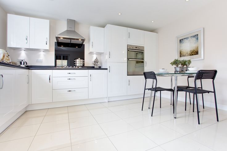The kitchen in The Evesham at The Homelands in Bishops Cleeve | Bovis Homes