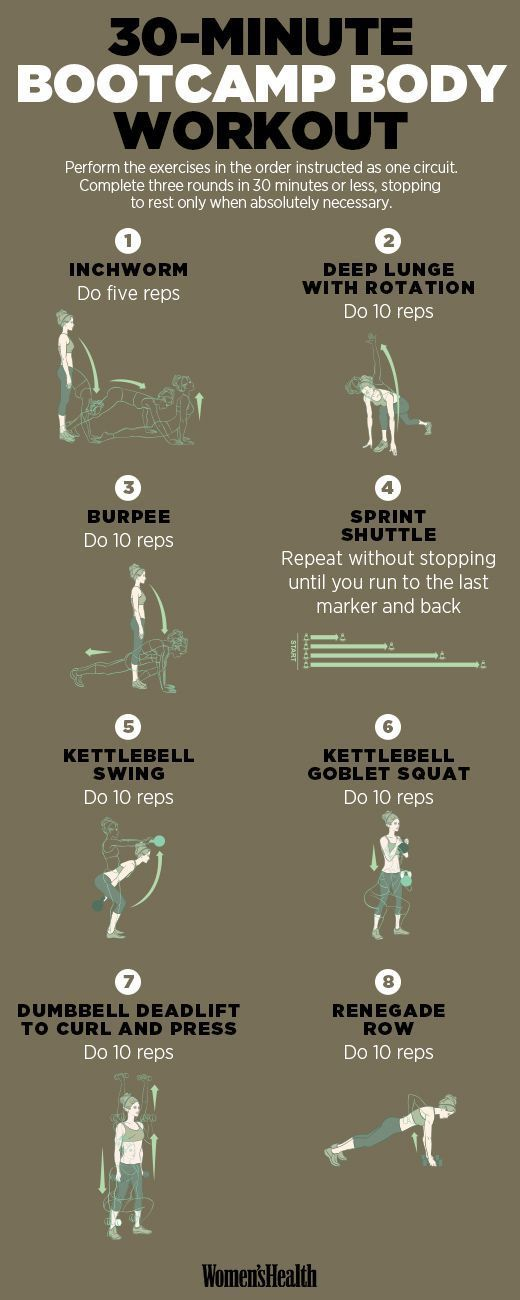 8 Moves to Whip Your Body into Boot Camp Shape