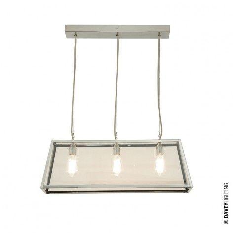 Diner 75 Ceiling Light 7632 Nickel By Davey Lighting Islandlight