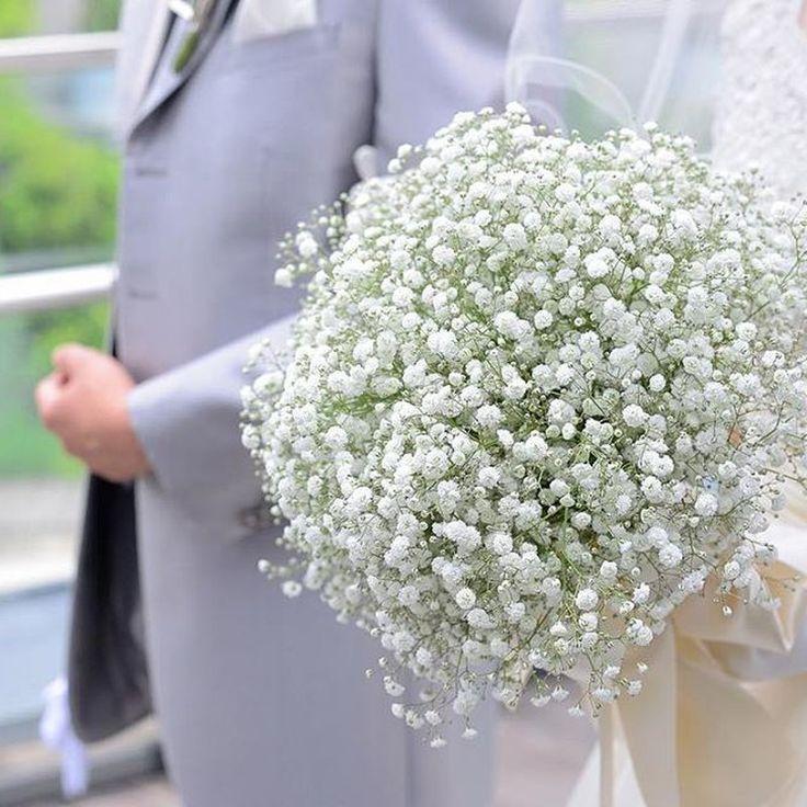 【結婚式レポ・披露宴編】お気に入りBGMで盛り上がる!かすみ草溢れるナチュラルウエディング
