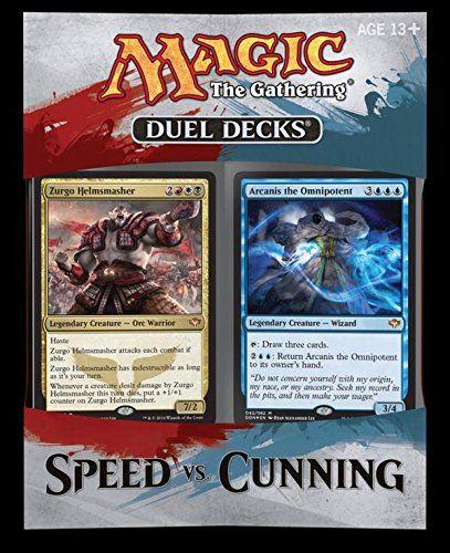Joseph ... MTG Magic the Gathering 2014 Duel Deck SPEED vs. CUNNING Magic: the Gathering http://www.amazon.com/dp/B00MU2MXEC/ref=cm_sw_r_pi_dp_D4qEub0E5QCHW