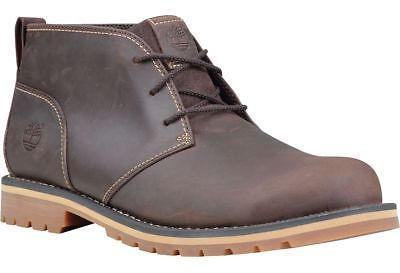 Timberland Grantly Chukka Shoe - Men's Dark Brown Oiled Full Grain 10.0