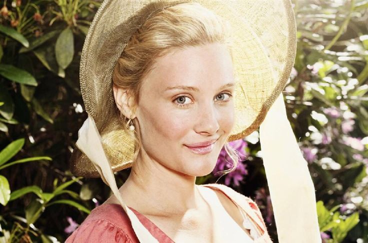 "VL2.3 ""Forgive me sir, in my concern for my sister, I did not introduce her properly the first time. This is my older sister, Miss Jane Bennet."" This pic - Romola Garai enjoying sunnier weather in the 2009 BBC production of Emma."