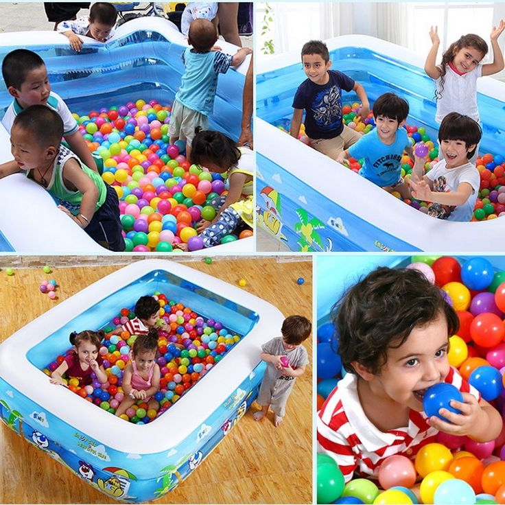 (52.52$)  Watch more here - http://ai2yo.worlditems.win/all/product.php?id=32637751693 - 120X90X40cm Baby Swimming Pool Safety Large Plastic Swimming Pools  Square Inflatable Swimming Pool Child Baby Bath Piscina YP02