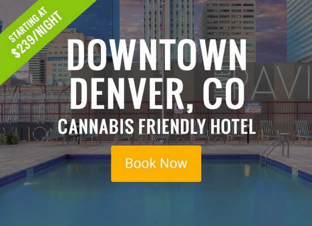 Book A 420 Friendly Hotel Room In Denver Colorado Visit My420tours For