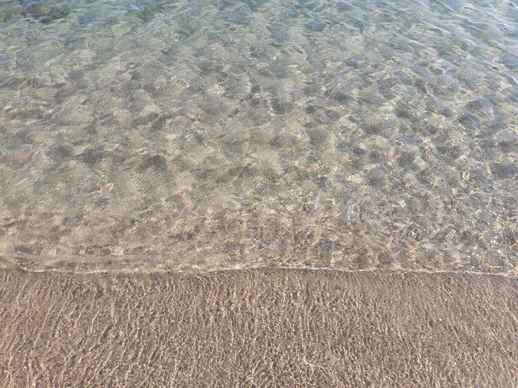 Kefalos Beach Gökçeada suyun berraklığı