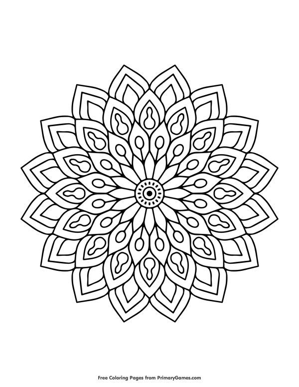 Free Printable Spring Coloring Pages Ebook For Use In Your Classroom Or Home From Primaryga Abstract Coloring Pages Spring Coloring Pages Flower Coloring Pages