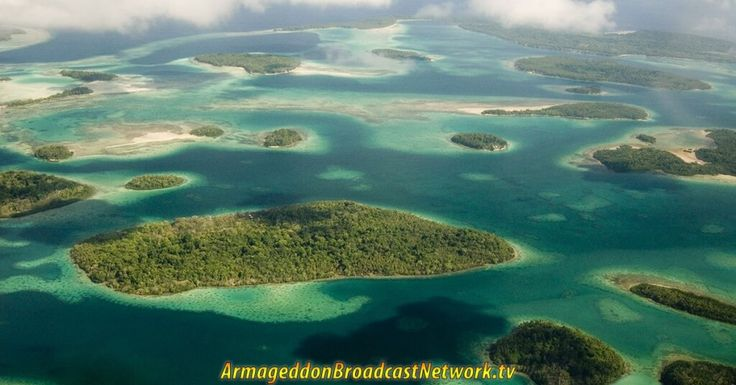 5 Islands Disappear from the Solomon Islands is a fulfillment of Biblical Prophecy! Psalm 97:5 The mountains melt like wax before the LORD...
