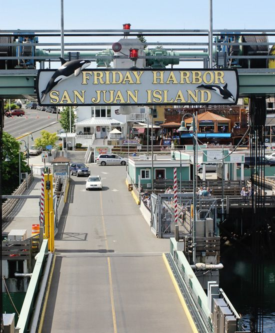 Friday Harbor, WA, #City, #Travel, #Washington