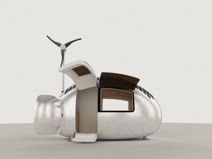 Ecocapsule, Rumah Mini Berdesain Mewah dan Efisien