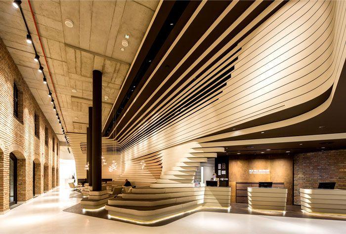 Contemporary Concept of Beograd Hotel by CRAFT reception corner 1