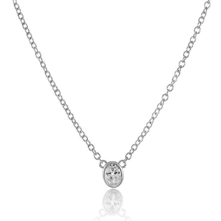 """Melinda Maria """"Single Thorn"""" necklace"""