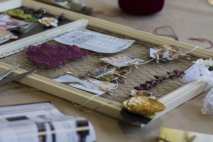 Create a Wedding Vision Board