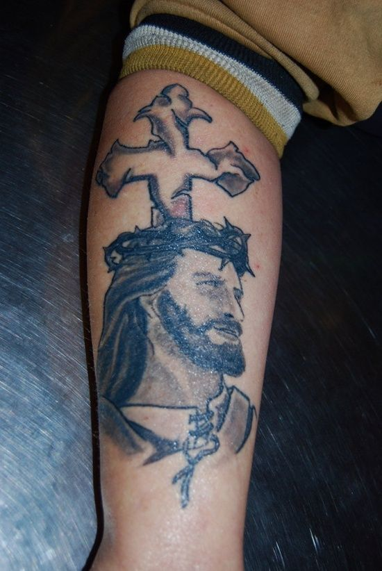 Jesus Tattoo Designs: The Jesus Tattoo Designs And Meaning For Men On Arm ~ tattooeve.com Tattoo Design Inspiration