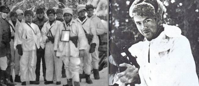 Un tireur d'élite finlandais décime l'armée soviétique.