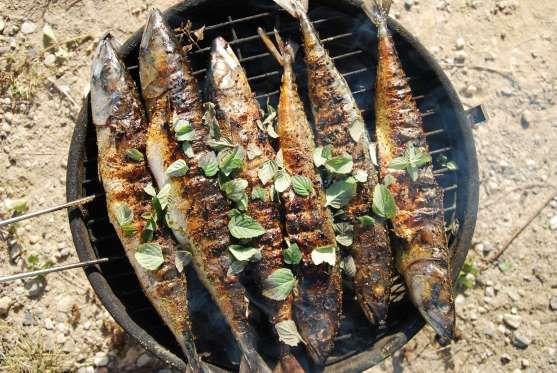 Para que seu peixe fique tenro e macio, recheie-o com uma mistura de pão de forma, leite e alecrim a... - @Thinkstock.com