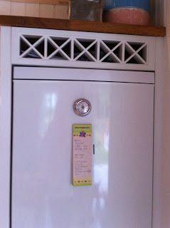 Bygga in kylskåp