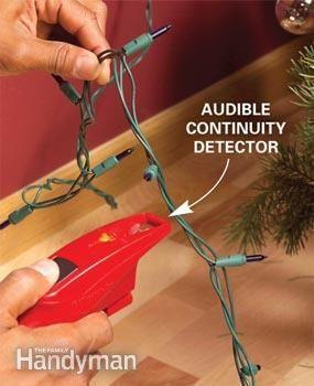 Use a Christmas Light Tester to Check Holiday Lights | The Family Handyman