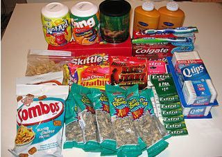 Care Package ideas for Missionaries or Service People