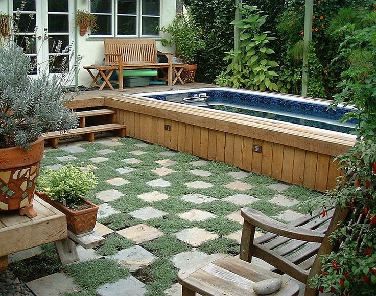 11 best Plunge pools images on Pinterest | Small pools, Backyard ...