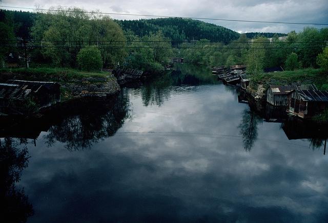 Helylä village in the banks of Tohmajoki river, Ladoga Karelia, Russia 2009 by Mikko Itälahti - diary of lived space, via Flickr