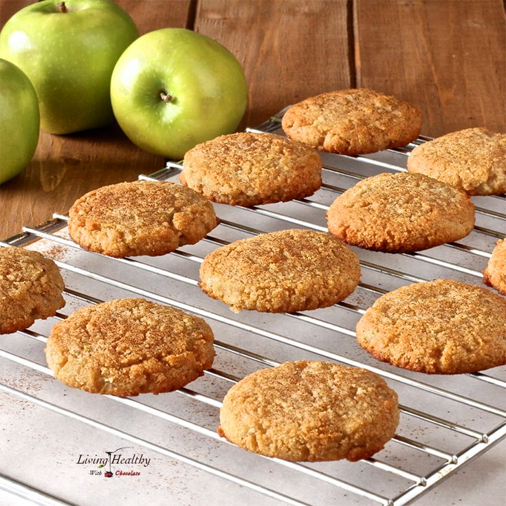 Soft and chewy Paleo Apple Cinnamon Cookies, with fluffy, tender crumbs. Recipe contains no eggs, grains, gluten, dairy or refined sugar & taste incredible!