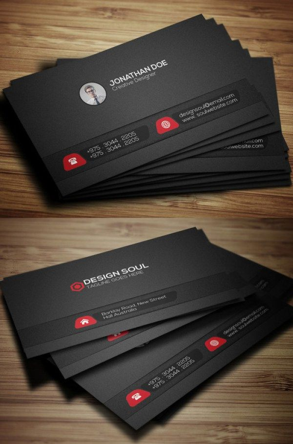 164 best Business Card images on Pinterest | Psd templates, Business ...