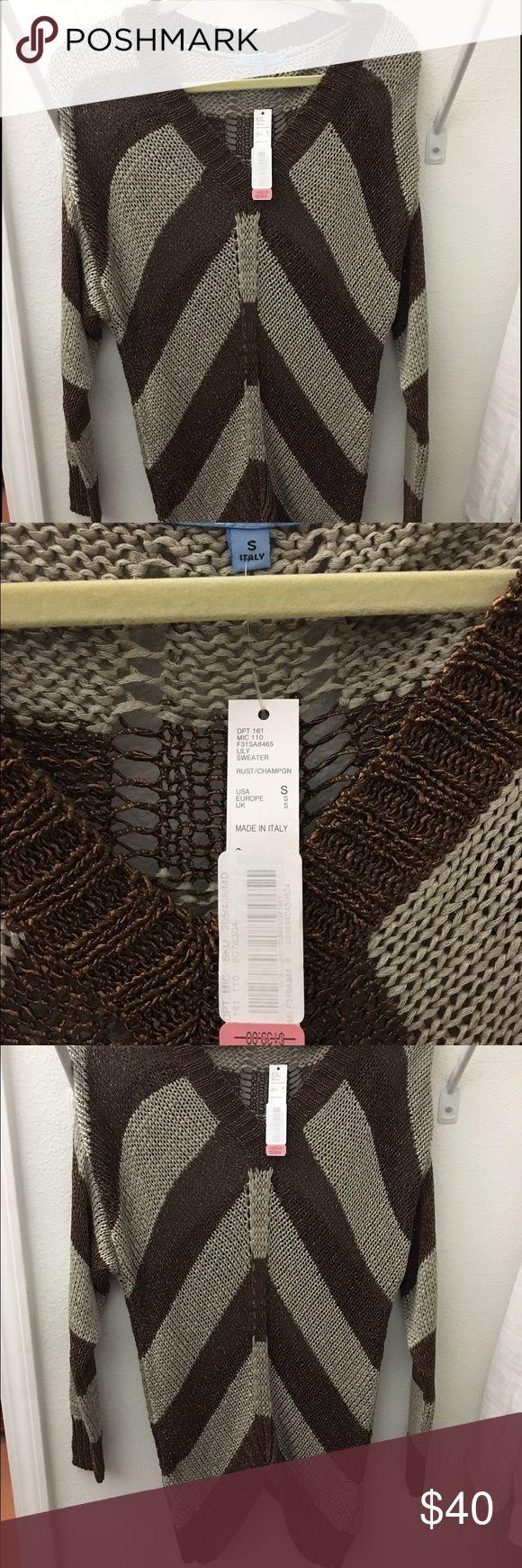 New, with tags, Antonio Melani sweater. Very comfortable new Antonio Melani sweater from Dillards. Never worn. Originally $139 ANTONIO MELANI Sweaters V-Necks