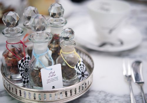 Alice in Wonderland - mad hatters' Tea party at Sanderson Hotel - Oxford Street