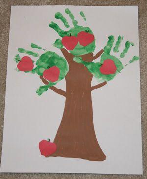 hand made apple tree