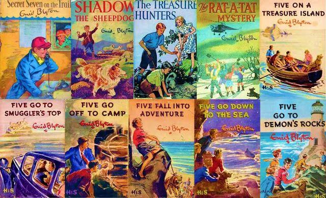 #Vintage Enid Blyton #books www.newpublisherhouse.com