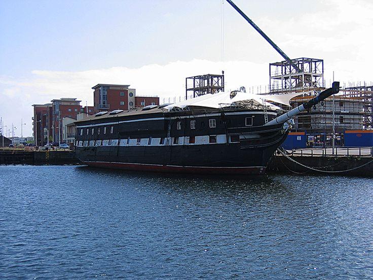 H.M. Frigate Unicorn Victoria Dock Dundee