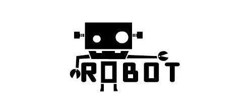 30 Cool Designs of Robot Logo