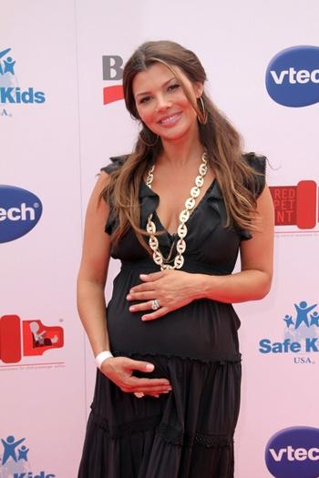 Ali Landry pregnant. FabulousBuzz.com #PregnantCelebrities #Celebrities #AliLandry