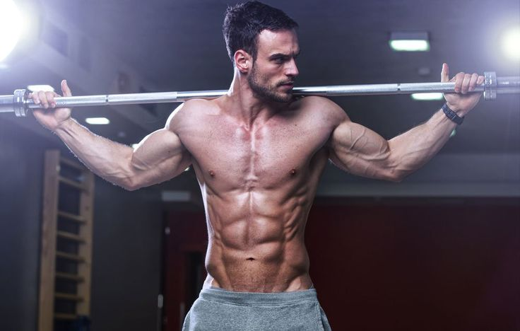 Want to build broad shoulders and a strong core? This exercise checks both off your list
