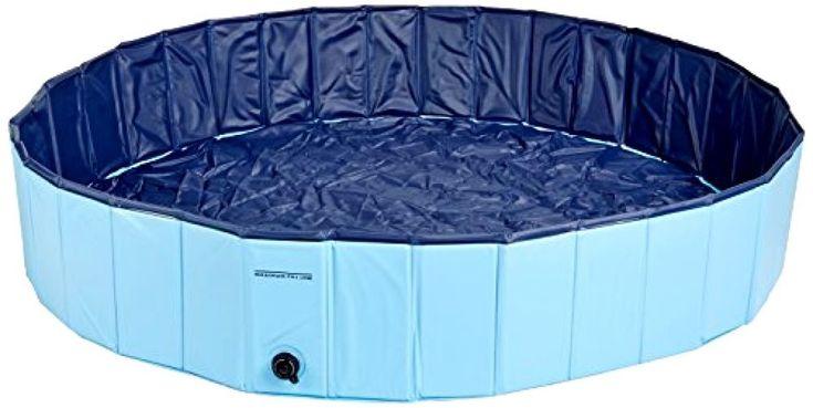 Large Dog Pool, Dog Swimming Pool, Splash Pool, Dog Play Yard, Above Pool, Blue #CoolPup