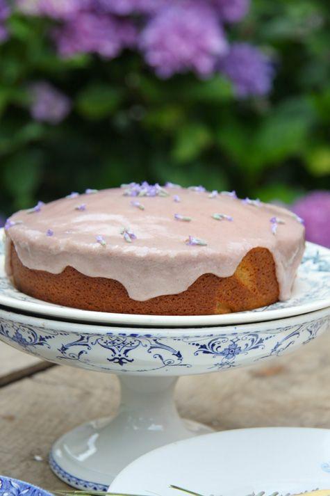 Tarte taart An: Zomerse amandel-lavendeltaart
