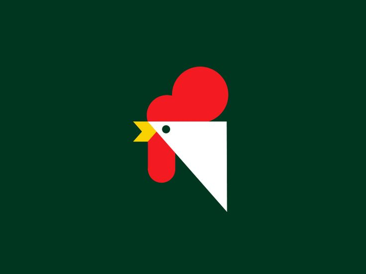 Rooster by Steve Wolf #Design Popular #Dribbble #shots