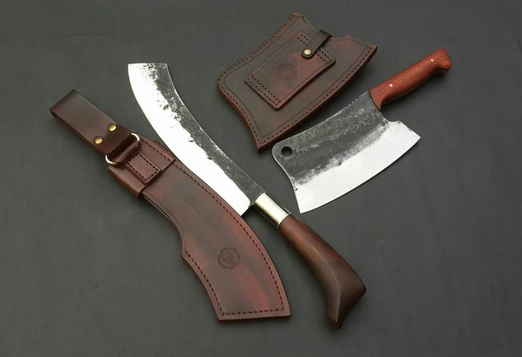 Custom Handmade Leather Sheath Work by OldBlockBlades - www.oldblockblades.etsy.com