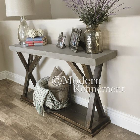 Farmhouse Foyer Games : Ideas about rustic sofa tables on pinterest