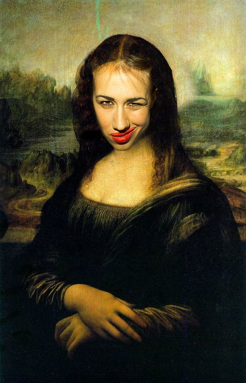 The Miranda Lisa. I dont know where this is from but I like it.