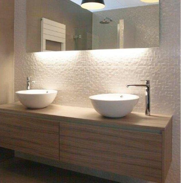 25 beste idee235n over badkamermeubel verlichting op