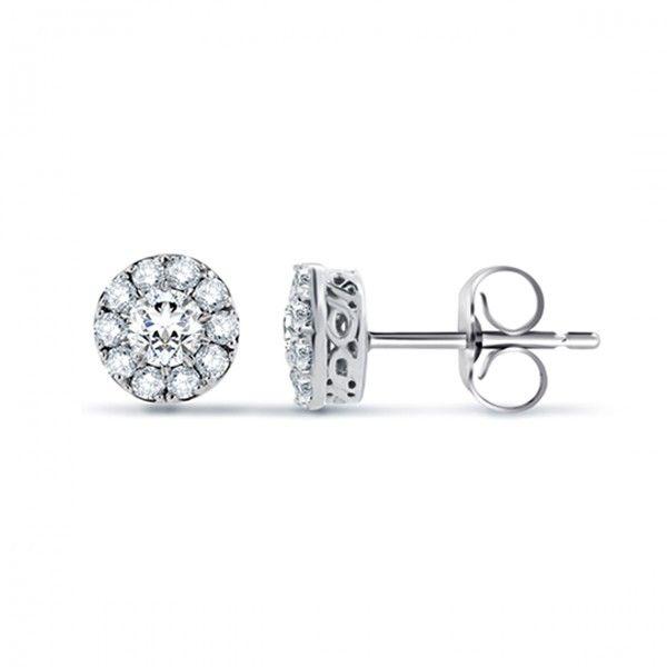 White Gold Diamond Earring are my favorite. So elegant