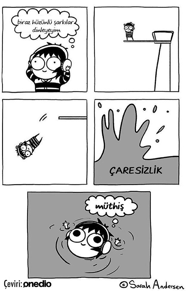 """""""Aaa Bu Ben"""" Tepkinizi Gizleyemeyeceksiniz! Her Kadının Kendinden Bir Parça Bulacağı 14 Karikatür"""
