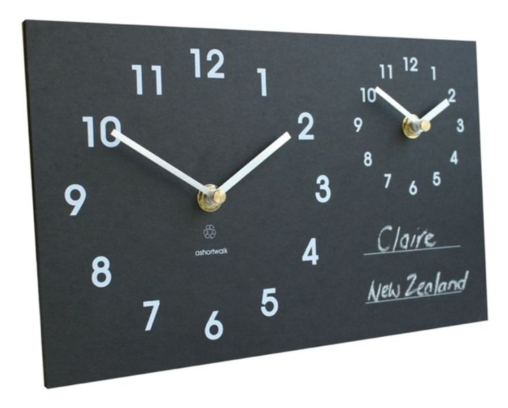 Time Zone Clock Eco friendly [TZC] - The eco time zone clock from maxedupgifts is designed to enable you to see the time in 2 different time zones. Perfect for the home, office or to check the time where your loved ones may be residing. There's now no excuse for calling someone in the middle of the